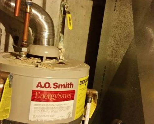 Water Heater Repair Inspection